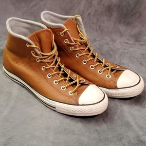 Leather Chuck Taylor Hi Tops